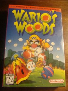 WARIO'S WOODS NINTENDO NES P WB VIDEA GAME NEW IN THE BOX - 1994 - RARE GAME