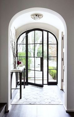 A beautiful front door -- or back patio door Source: sfgirlbybay | Dream House: door via ryan street & asscociates http://rsassoc.com/projects/