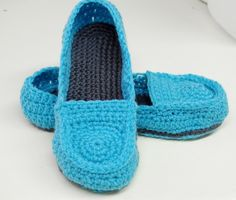 Free+Women+Slipper+Crochet+Patterns | Free Crochet Pattern: Women's Loafer Slippers ∙ Creation by ...