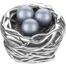 Robin's Nest Pearl & Silver Chamilia Bead - Maggie gave me this!!  I love it,  All my chicks in one place.