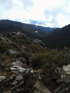 Desde el Cerro Chirripo! Bello mi pais!!!