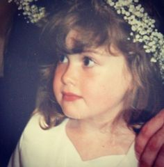Me when I was five at a Greek wedding, Bridesmaid memories aha