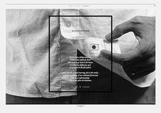 Full photo Frame on top words in contrast (light on dark) in frame  wanderwonder's lookbook 2014