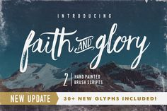 Faith & Glory • New Update! by Sam Parrett on Creative Market