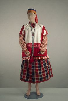Unmarried Woman's Costume Russia (Tula), late 19th- early 20th century The Hermitage Museum Donate to the Russian LGBT Network