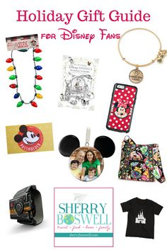 Here's a holiday gift guide for Disney fans. I've selected these items because they are some of my favorites I've received through the years. Copy and leave out for Santa or use it in your shopping for your Disney lover.