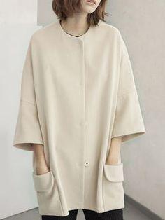 Pockets Wool blend Coat