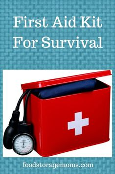 Have you thought about updating your first aid kit? I have several first aid kits but this is probably my very favorite one. I have a printable list for you to fill it.