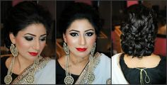 Makeup by Naila tausif Party Makeup, Most Beautiful, Drop Earrings, Ideas, Women, Fashion, Moda, Festival Makeup, Fashion Styles