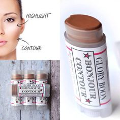 Bonjour Contour healthy contour makeup and cover up by GloryBoon