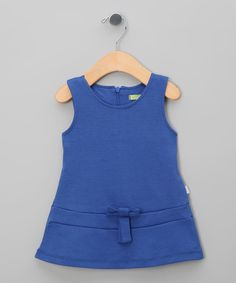 Lavander Bow Shift Dress - Infant, Toddler & Girls