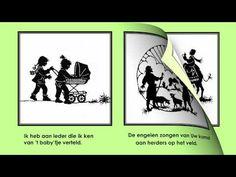 Ook U kwam als een kindje Heer -  Verhaal met knipselplaten - Hoe is het als er een baby wordt geboren? Toen en nu -  www.bijbelidee.nl