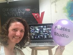 Celebrating 6 years of The Pilates Studio Edinburgh, Conquer Gravity and a few more of me on this earth- all on the same day! And in the best way I know how- teaching Pilates!