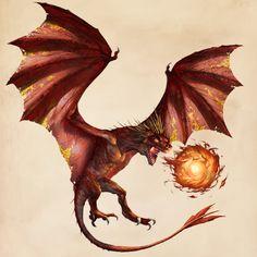Fantastic Beasts Glossary– Dragon (Chinese Fireball)