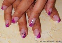 Little extravaganza with LCN Colour Gel white and purple. Gel Nails, Nail Art, Colour, Purple, Beauty, Gel Nail, Color, Nail Arts, Beauty Illustration