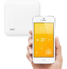 Tado - iphone controlled intelligent thermostat EN-BoxSmartphone