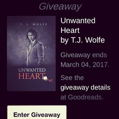 Hosted by Good Reads. Enter a chance to win a copy of Unwanted Heart now thru March March 4, Lgbt, Lesbian, Giveaway, Novels, Reading, Heart, Books, Libros