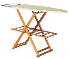 £279 for a wooden ironing board at Summerill & Bishops. Strangely worth it.
