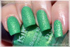 KIKO 643 Spring Green http://miserylovesblue.blogspot.it/2014/09/discontinued-day-14-kiko-sugar-mat-643.html