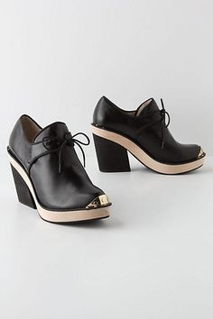 Brass Works Booties #anthropologie