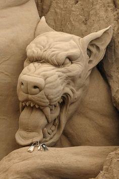 Sand sculpt by Bergholtz