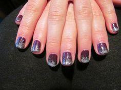 Shellac Rock Royalty Glitter Fade