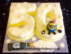 Lemon 50th Cake
