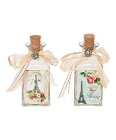 Love this Eiffel Tower Bottle Set by Designs Combined Inc. on #zulily! #zulilyfinds