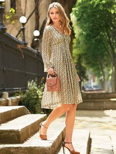 Empire Waist Dress 09/2016                                                                                                                                                                                 More