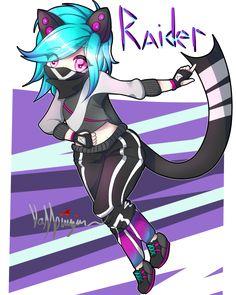 Raider! chibi (Speedpaint soon!) by Vampirizian on DeviantArt