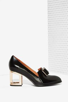 Jeffrey Campbell Sayer Leather Loafers//