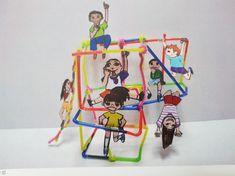 Projects For Kids, Diy For Kids, Art Projects, Crafts For Kids, Jr Art, Kids Art Class, Cute Bedroom Ideas, Toddler Art, Korean Art