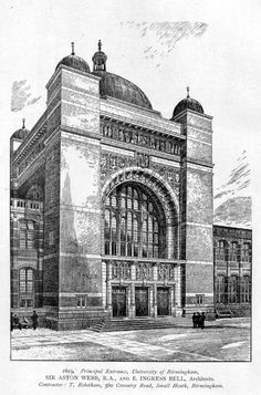 Artist Unknown - Design for the Main Entrance to the University of Birmingham, 1619