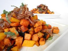 Sage & Mango Sweet Potato Hash | Made Just Right by Earth Balance (vegan plantbased recipe)