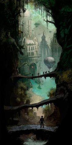 'Adventure Concept Art 1' by Artur Sadlos by jan
