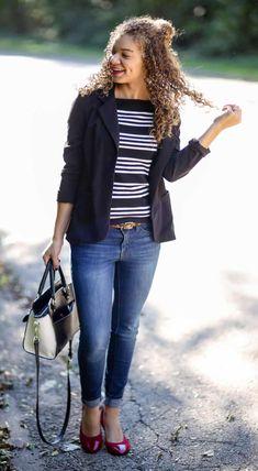 black blazer outfit Blazer outfits with work fashion ideas Black Blazer Casual, Black Blazer With Jeans, Black Jacket Outfit, Blazer Outfits Casual, Blazer Outfits For Women, Business Casual Outfits, Blazer Fashion, Black Blazers, Blazers For Women