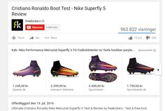 Carousels of Google Shopping ads spotted on YouTube