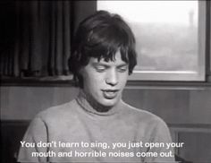 include the rolling stones interview lol mick jagger and quote