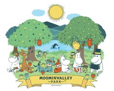 The most-awaited Moomin-themed park in Japan is opening this of March! 🎉 Who's your favorite Moomin character? Art In The Park, Moomin Valley, Net Flix, Tove Jansson, Little My, Japan Fashion, Music Love, Game Character, Animation