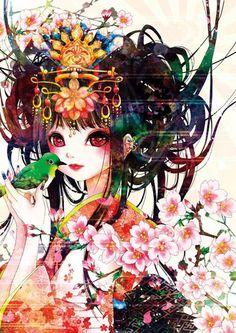"picture of Sakura Exhibition: asaki maki ""Signs of Spring"" Poster 1"