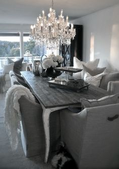 ♅ Dove Gray Home Dec