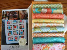 Hey, I found this really awesome Etsy listing at https://www.etsy.com/listing/180352700/sassy-frass-quilt-kit-with-fabric-from
