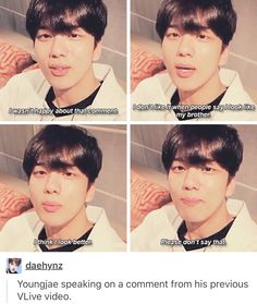 B.A.P Youngjae WTF Yongjae? How can u say that? LOL