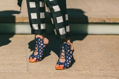 Fashion Week Street Style, Day One: Whites After Labor Day - NYFW Spring 2015 - Racked National #shoes