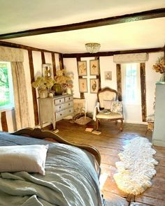 English Country Cottages, Period Living, Living Magazine, Cozy Cottage, White Walls, Home And Family, Interior Design, Furniture, Home Decor