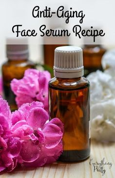 Easy DIY anti-aging face serum recipe that is easy to customize for your skin type. via www.yourbeautyblog.com