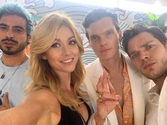 YOU are the legacy! We love you! Thank you so much for not one but TWO surfboards this year at for and You are simply beyond incredible. Shadowhunters Actors, Shadowhunters Season 3, Shadowhunters The Mortal Instruments, Glee, Clary Und Jace, Clary Fray, Dominic Sherwood, Veronica Roth, Katherine Mcnamara