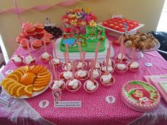 Strawberry Shortcake and Friends Food and Beverages!