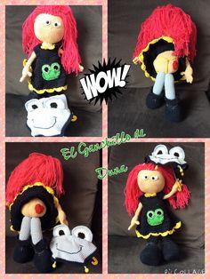 Muñeca #crochet #ganchillo