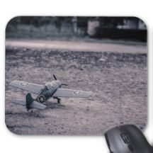 Remote Control Airplane Mouse Pad